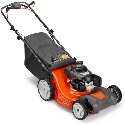 Lawn Mower Sweepstakes 2017 - husqvarna 160cc 21 quot self propelled rwd gas lawn mower 299 at lowes com
