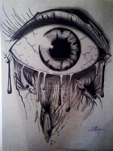 Eye On Design sad drawings art artthatinspirestomakeart pinterest