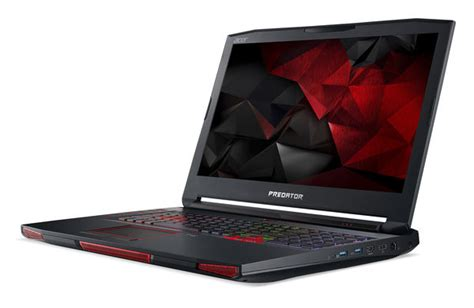 acer pounces on vr gaming with new predator desktop and laptop pcs first benchmarks acer predator 17x gaming laptop