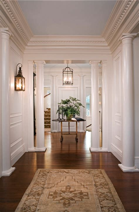 home entryway family home with classic coastal interiors home bunch