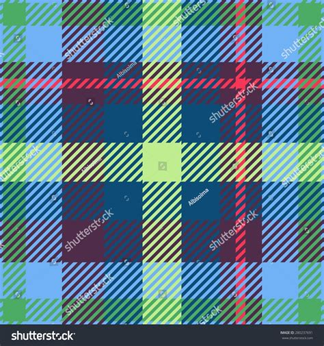 pattern colorful kilt tile colorful tartan seamless pattern stock illustration