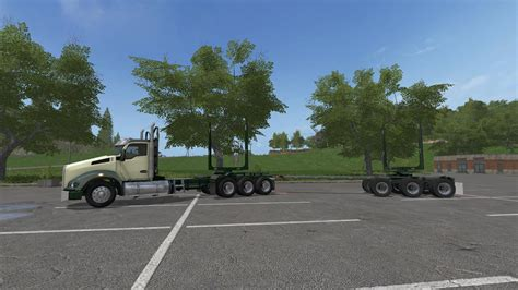 kenworth truck and trailer kenworth t880 and trailers v1 0 fs17 farming simulator