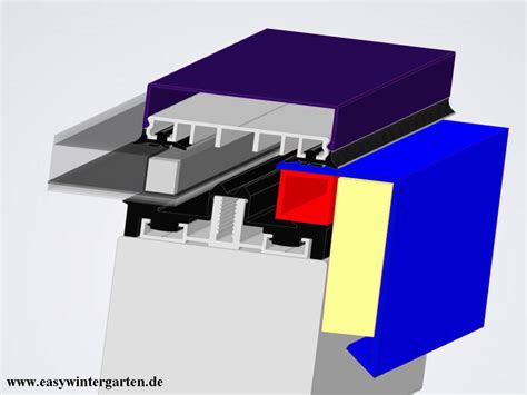 easy wintergarten ortgang glasdach mit sonderkantteil