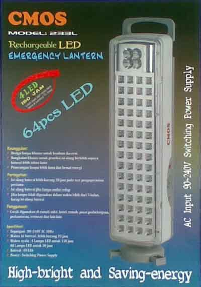 Promo Emergency Electric Power Supply Penyedia Listrik Darurat emergency light cmos el 233 led lu led cmos el 233 led pabx panasonic pabx