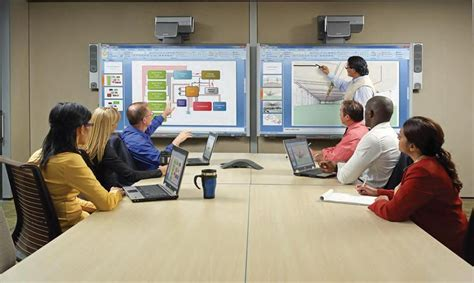 Interactive Meeting Table Board Room Solutions Corporate Systembridge Av