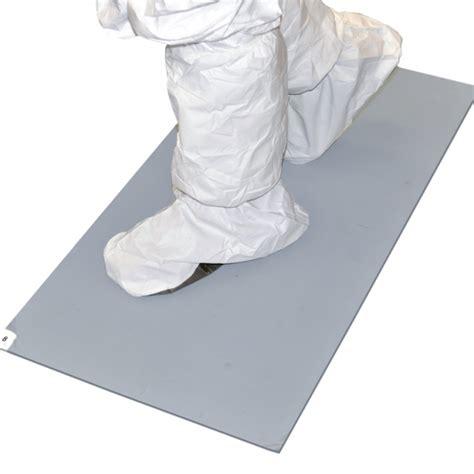 Sticky Floor Mats by Grey Tacky Mat Grey Cleanroom Sticky Floor Mats