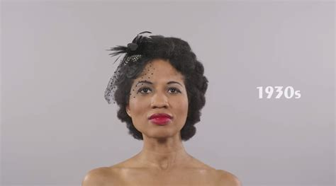 texas 1930 hairstyles 100 years of black hairstyles in 1 minute w marshay clip
