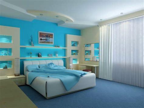 contoh warna cat kamar tidur yang cocok untuk anda tatanan kamar dengan warna cat biru yang cocok untuk