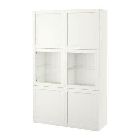 besta ikea vitrine best 197 storage combination w glass doors hanviken sindvik