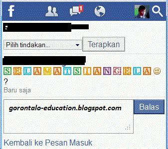 membuat teks link di facebook cara membuat teks warna warni di facebook