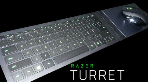 Keyboard Wireless Razer razer turret wireless keyboard and mouse review reactor