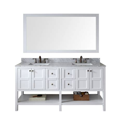 72 inch bathroom countertop virtu usa winterfell 72 inch double sink white vanity with