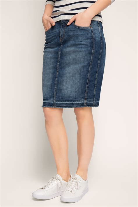 esprit stretch denim skirt at our shop