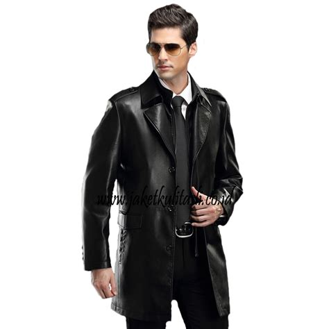 Jaket Kulit Mantel Pria P550 mantel jaket kulit pria a541 jual jaket kulit asli terlengkap model terbaru jaketkulitasli co id