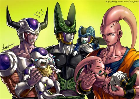 dragon ball z villains wallpaper dragon ball z villain characters trio by goddessmechanic2