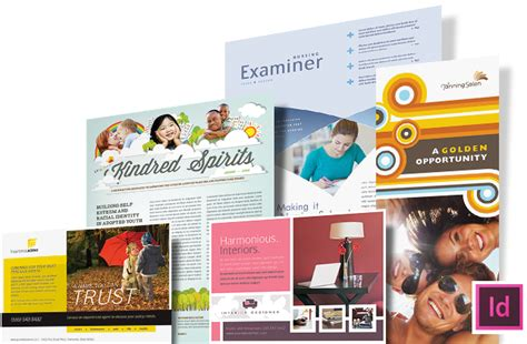 Adobe Indesign Templates Graphic Designs Ideas Adobe Indesign Brochure Templates Free