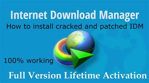 how to download idm full version crack youtube how to install cracked idm full version youtube