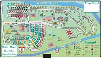 cgrounds in map interior south dakota cground badlands white river koa