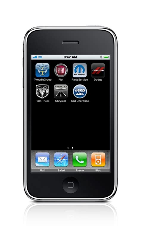 Jeep Grand App Chrysler Debuts Vehicle Info Iphone App On 2011 Grand