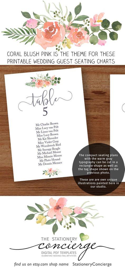world travel wedding seating chart printable stationery weddings