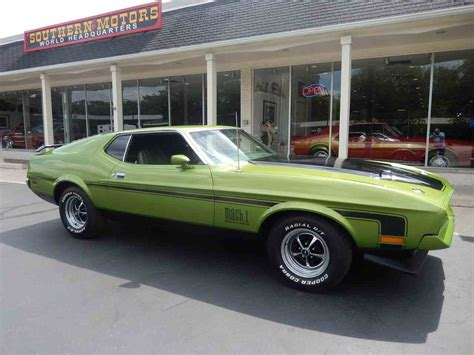 72 mach 1 mustang for sale 1972 ford mustang mach 1 for sale classiccars cc