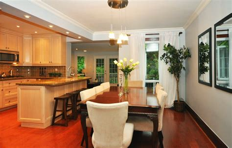 Combining Kitchen And Dining Room by Kitchen And Dinning Room Open Up Kitchen To Dining Room