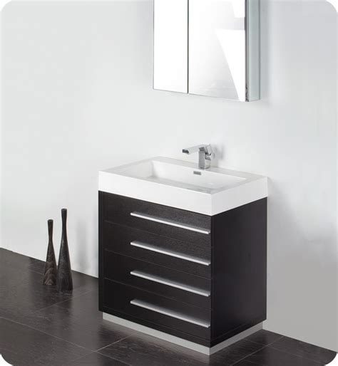 chrome bathroom cabinets livello 30 in wide modern bathroom vanity w medicine