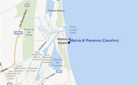 marea porto corsini marina di ravenna canalino previsione surf e surf