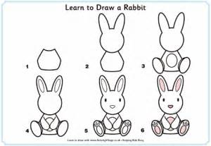 How to draw a bunny for kids how to draw bunny rabbits drawing
