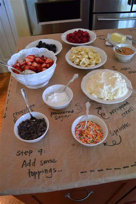 Waffle Bar Toppings waffle bar baby shower ideas for d waffle bar donut shop and cereal bars