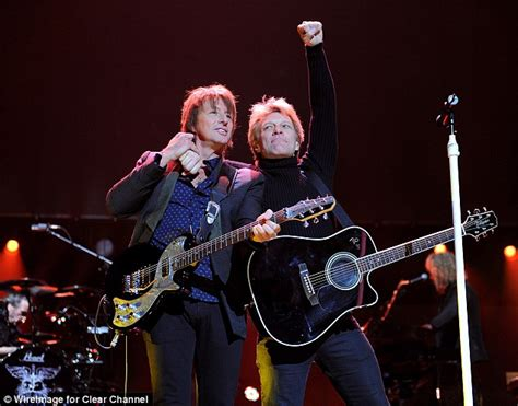 Richie Probably Not Back In Rehab by Richie Sambora S Fury At Jon Bon Jovi As He Insists He S