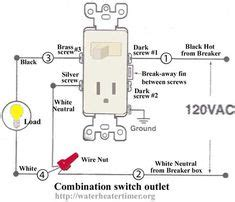Turn Light Fixture Into Outlet How To Wire Switches Combination Switch Outlet Light Fixture Turn Outlet Into Switch Outlet