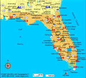 florida map cgrounds cgrounds in florida going cing