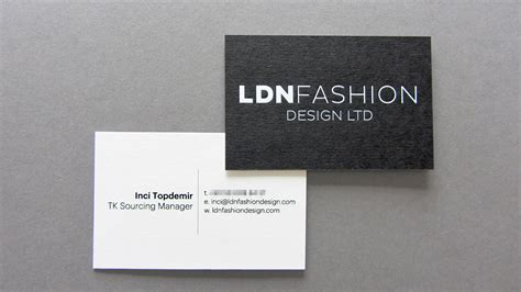 fashion design visiting cards ldn fashion design business card freestyle print london