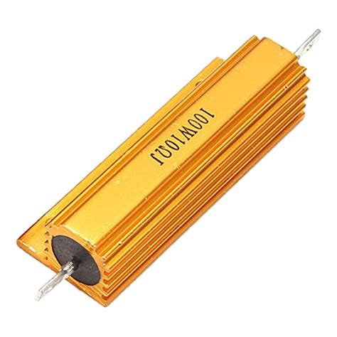 gold resistor gold aluminum clad power resistor resistance 100w t1 ebay