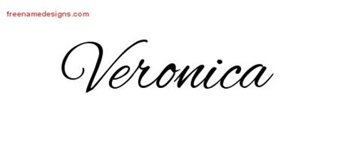veronica archives free name designs