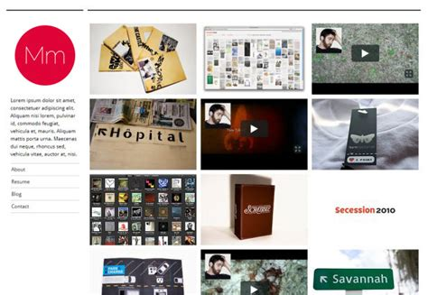 Free Tumblr Themes Artist Portfolio | 20 stunning tumblr portfolio themes webdesigner depot