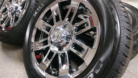 20 Toyota Tundra Wheels 20 Quot Toyota Tundra Tx Edition Chrome Oem 2016 Wheels And Tires