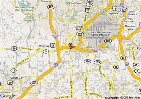 comfort inn college park ga map of comfort inn and suites college park atlanta