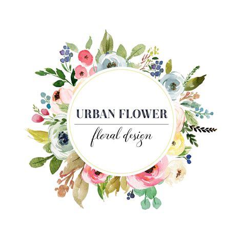 Drawing Ideas by Floral Logo Premade Logo Design Floral Frame Logo Circle