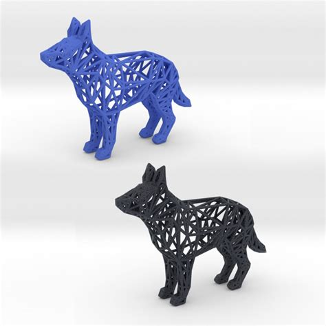 print model german shepherd cgtrader