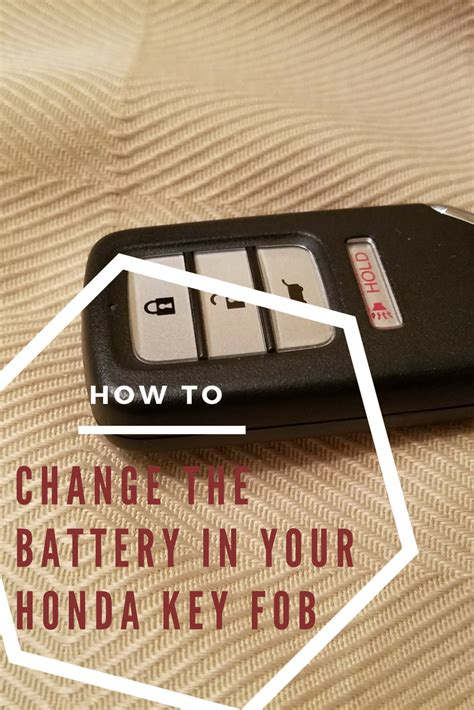 Honda Key Battery by How To Replace Your Honda Key Fob Battery Cr V Civic