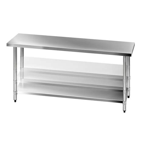 stainless kitchen bench 430 stainless steel kitchen work bench table 1829mm buy