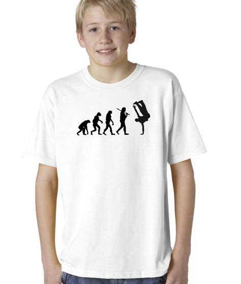 t shirt boy hip hop boys childrens evolution of