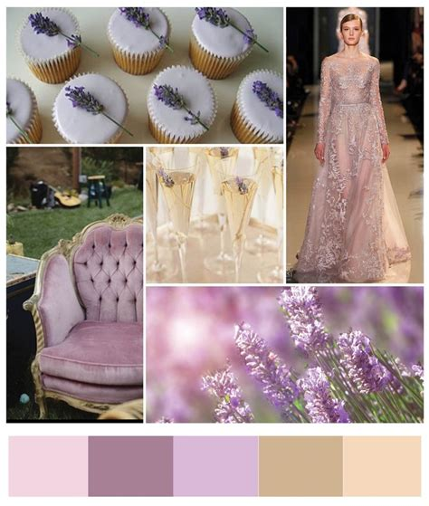 wedding colour schemes lilac lilac and chagne wedding colors chic and soothing