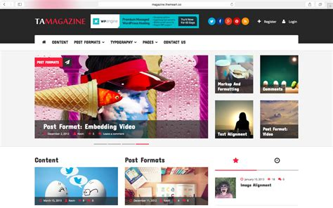 newspaper theme wordpress documentation ta magazine best free wordpress magazine news theme
