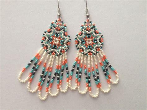 how to make american beaded earrings handmade american beaded earrings