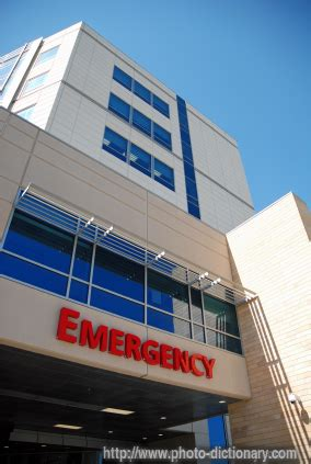 emergency room definition emergency room photo picture definition at photo dictionary emergency room word and phrase