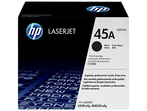Tinta Hp 45a Black Original jual hp laserjet black toner 45a q5945a harga dan