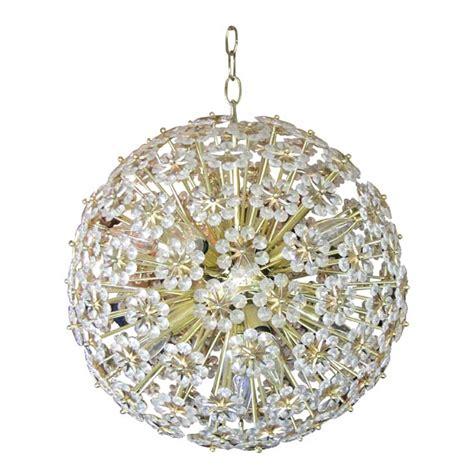 flower chandelier stunning sputnik austrian flower chandelier at 1stdibs